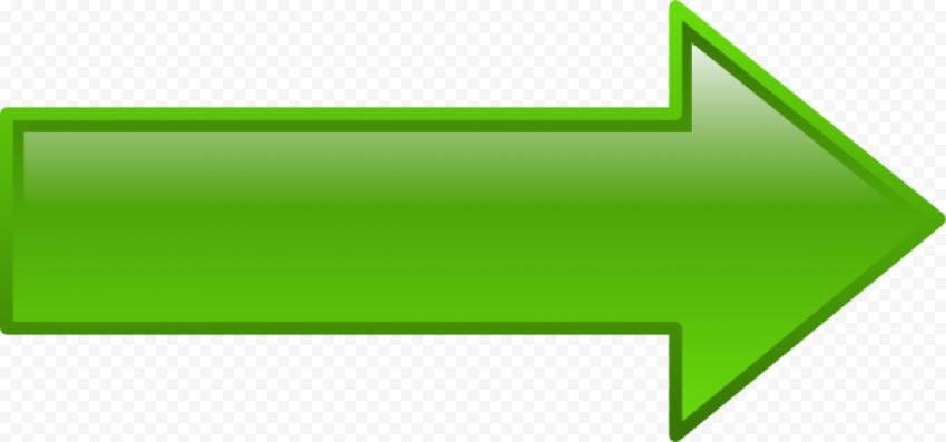 Green Arrow point to right horizontal