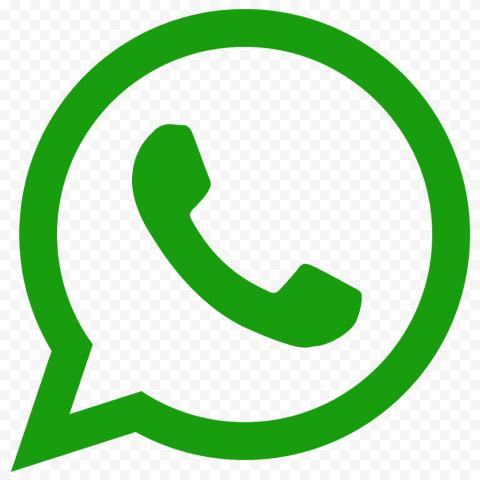 Green Outline Wathsapp Logo