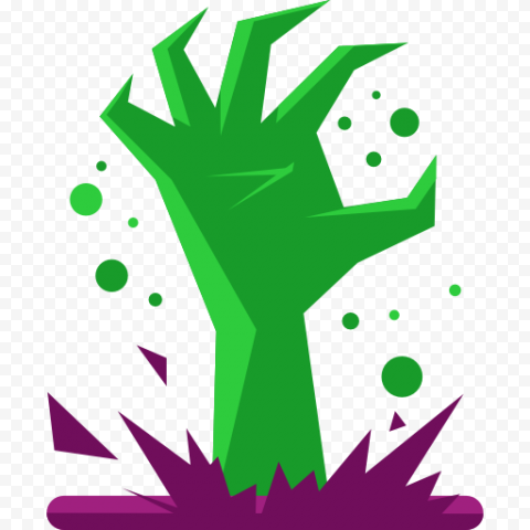 Halloween Monster Hand Vector Icon FREE PNG
