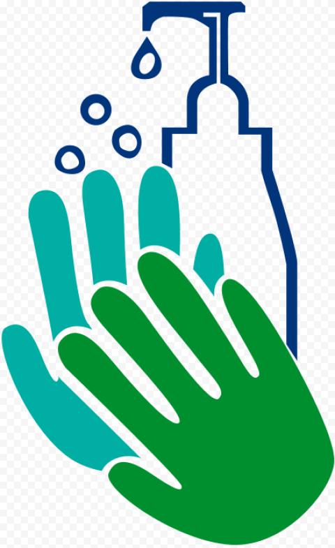 Hands Hygiene Sanitizer Cleaning Washing Sign