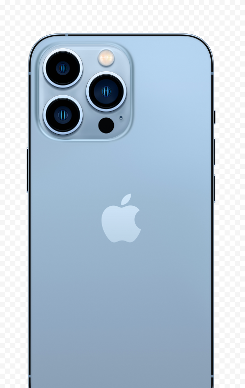 HD Apple iPhone 13 Pro Back View PNG