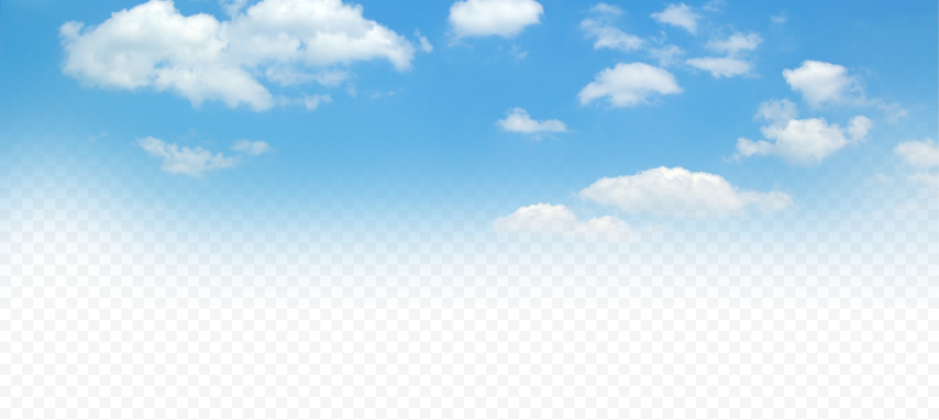 HD Beautiful Blue Sky With White Clouds PNG