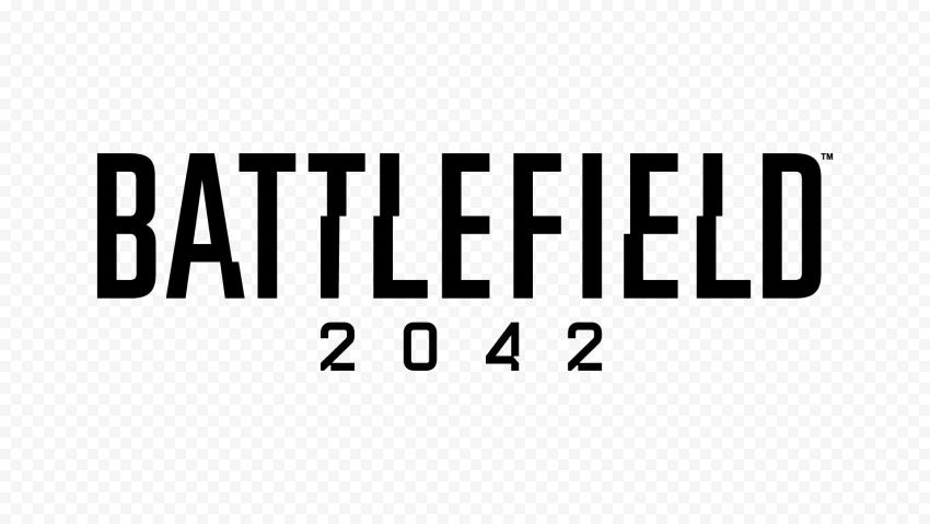 HD Black Battlefield 2042 Logo PNG