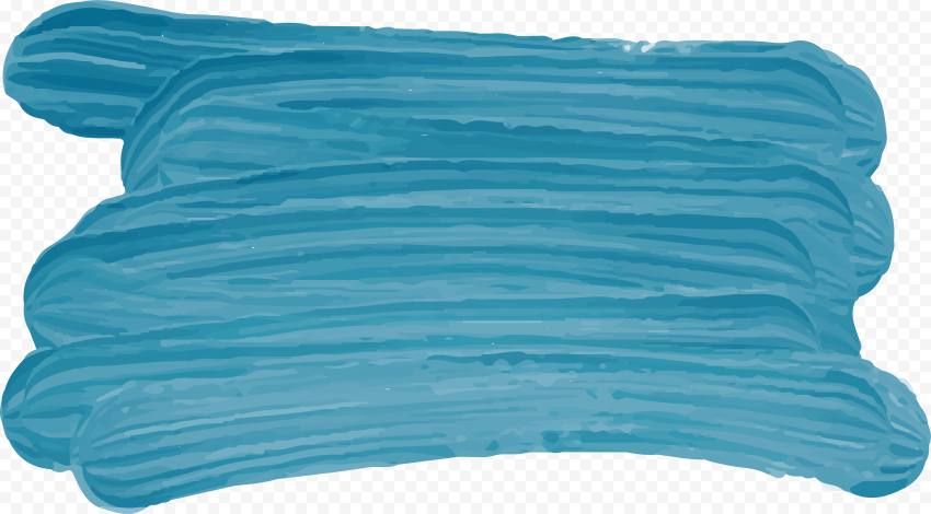 HD Blue Watercolor Brush Abstract PNG