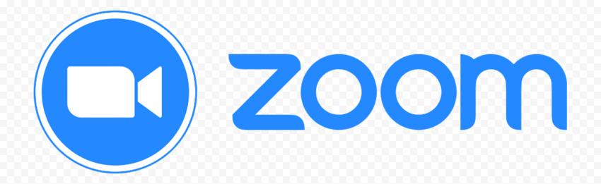 HD Blue Zoom Logo Transparent Background