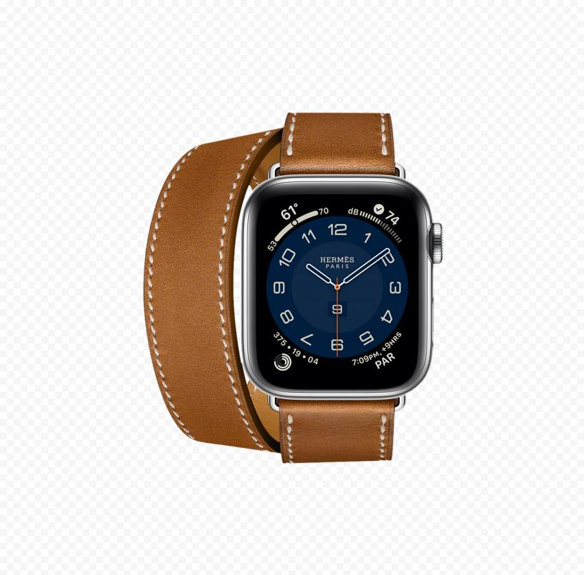 HD Brown Apple Watch Hermes PNG