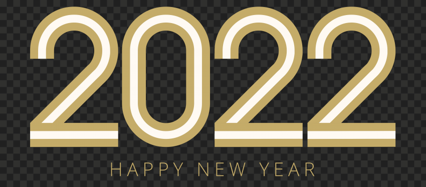 HD Happy New Year 2022 PNG