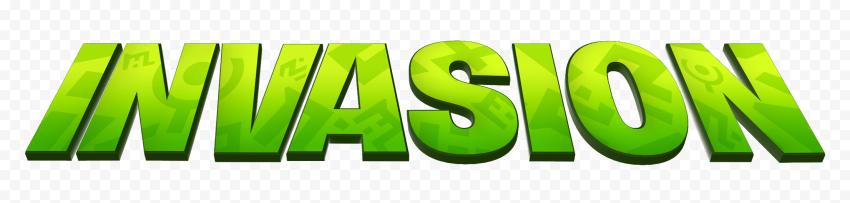 HD Invasion Fortnite Green Logo PNG