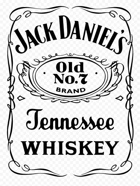 HD Jack Daniel's Jennessee Whiskey Logo PNG