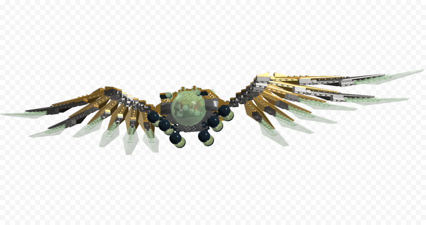 HD Mechanical Wings Transparent Background