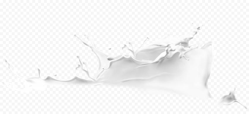 HD Milk Cream Yogurt  White Liquid Splash PNG