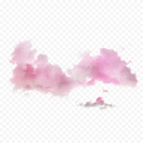 HD Pink Sky Clouds Transparent PNG