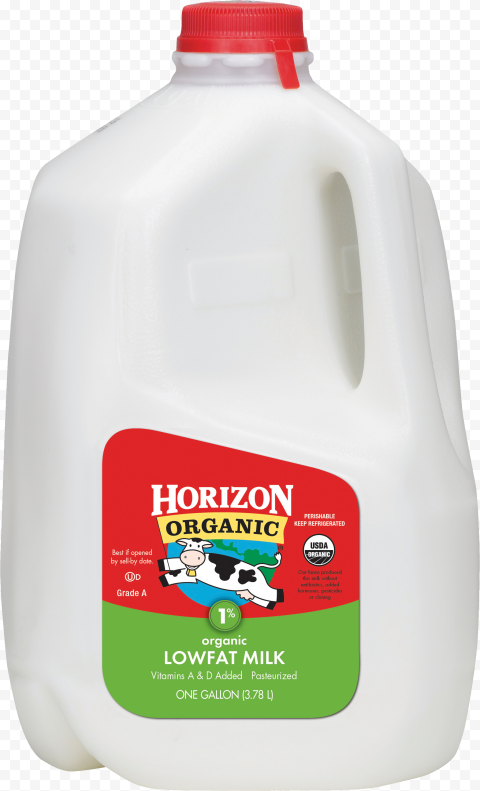 HD Plastic Jug Gallon Of Milk PNG