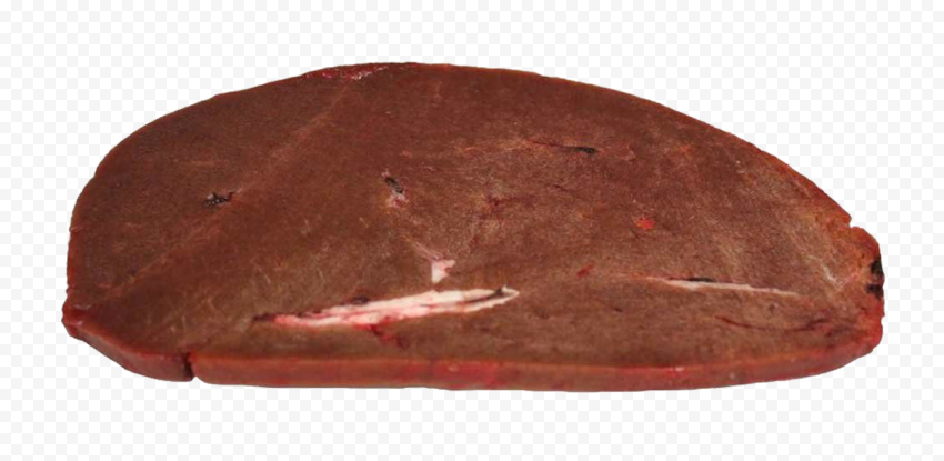 HD Raw Beef Liver Steak PNG