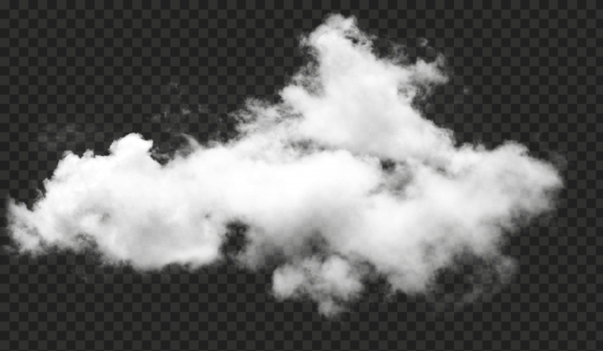 HD Real White Sky Cloud Transparent Background