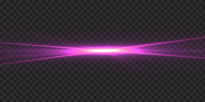 HD Shining Pink Light Flare Effect Transparent PNG