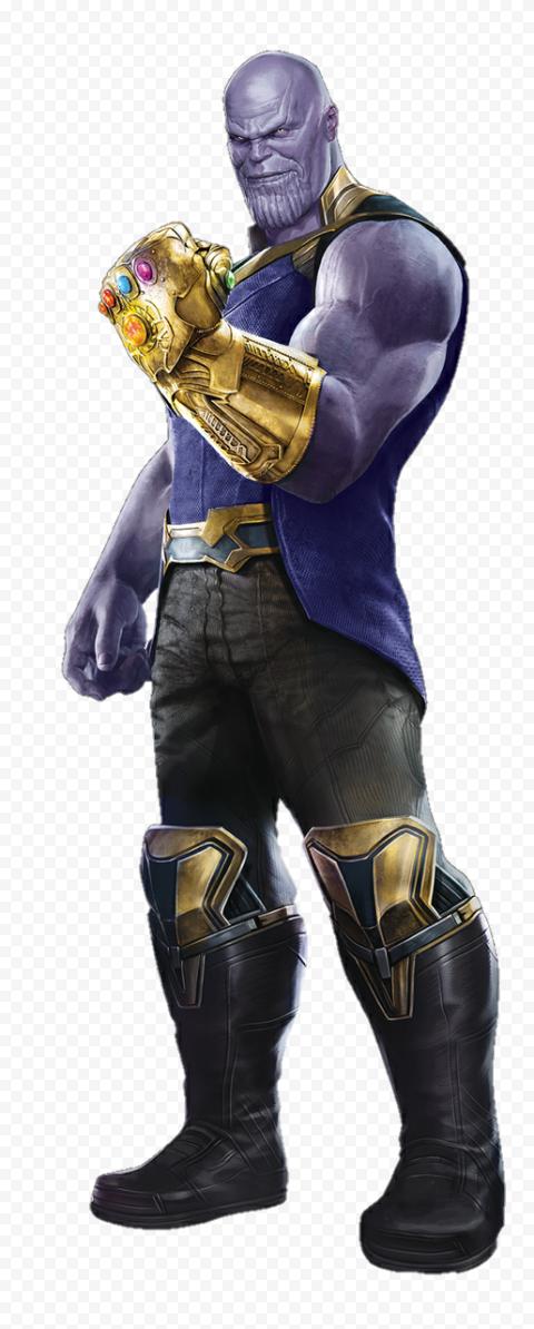 HD Thanos Character PNG