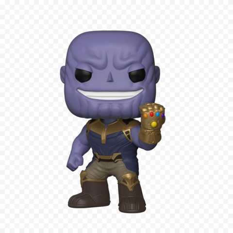 HD Thanos Chibi Figure Character PNG