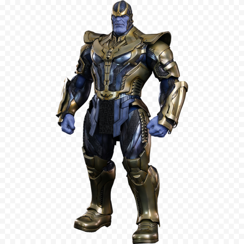 HD Thanos Figure Character PNG