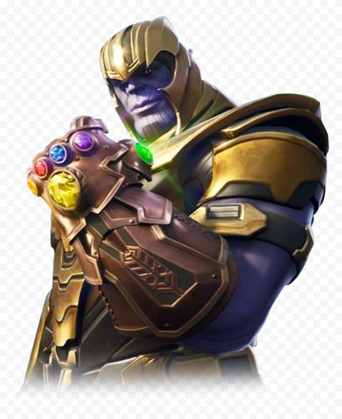 HD Thanos Fortnite PNG