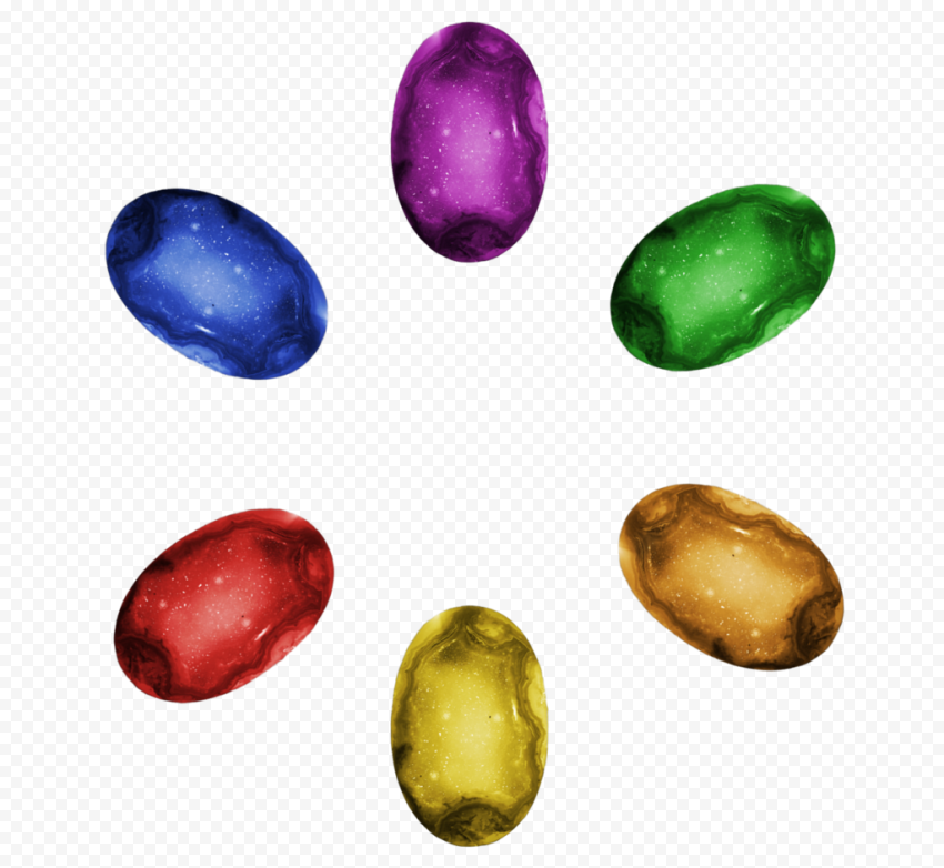 HD Thanos Hand Infinity Gems Power PNG