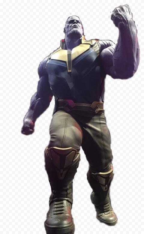 HD Thanos Marvel Superhero PNG