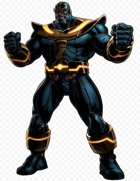 HD Thanos Transparent PNG