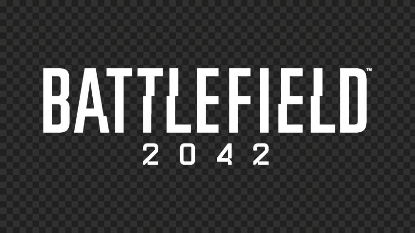 HD White Battlefield 2042 Logo PNG