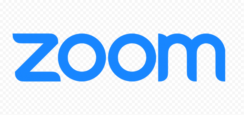 HD Zoom Text Logo PNG