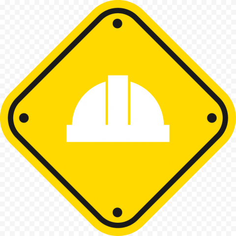 Helmet Caution Safety Construction Industry