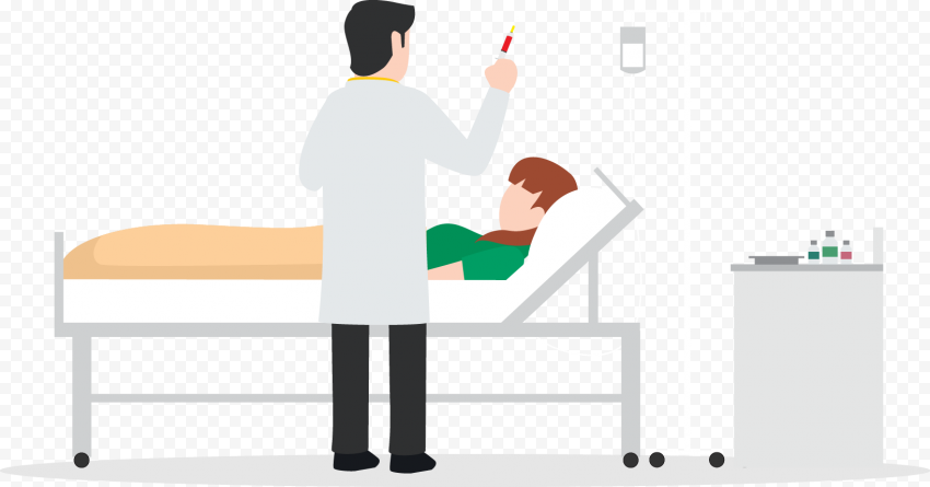 Hospital Doctor Clinic Syringe Injection Patient
