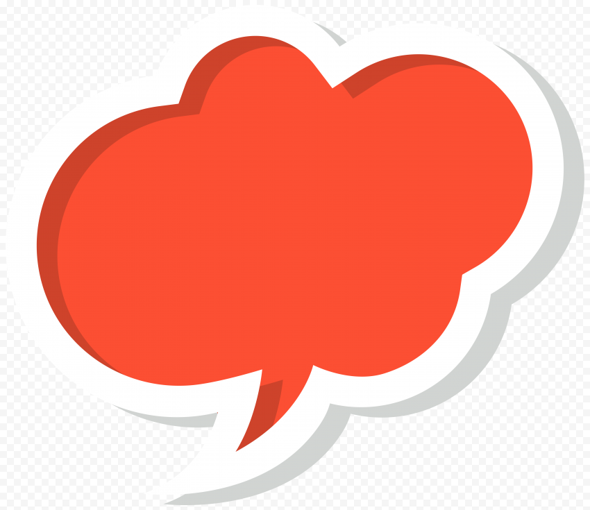Illustration Graphic Red Cloud PNG