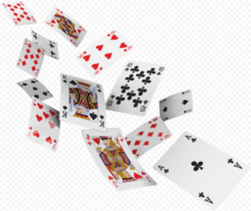 Jumbo Playing cards flying png