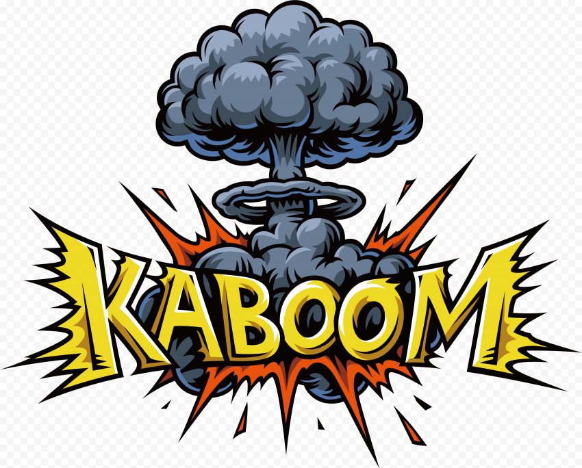 Kaboom Expression Comic Stickers Pop Art