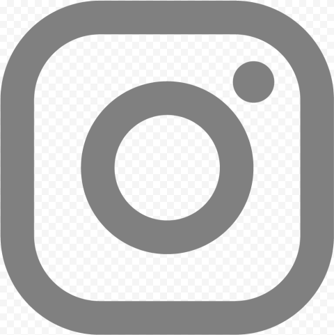 Light Smooth Gray Instagram Logo Light