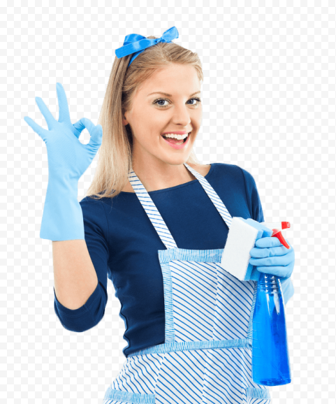 Maid Service Woman House Clean  Housekeeping