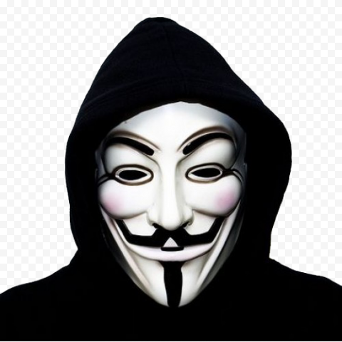 Man Invisible Face Anonymous Mask Vendetta