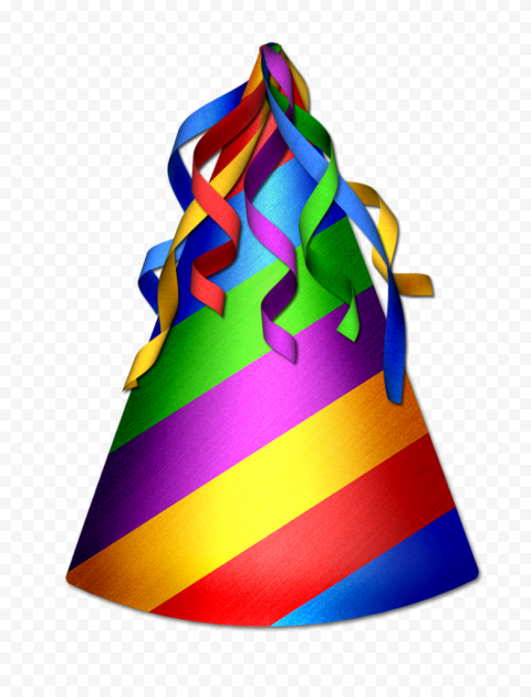 Party Birthday Hat Illustration PNG