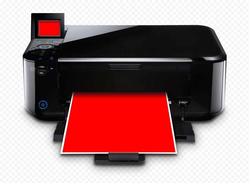 Photorealistic Printer Mockup