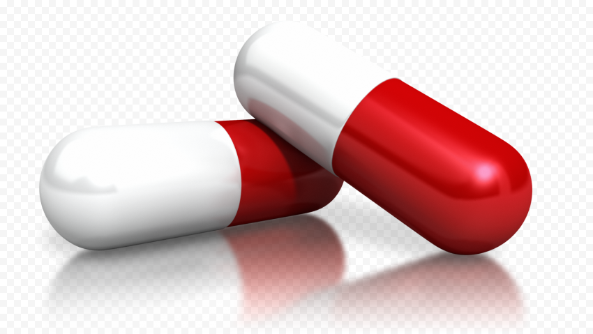 Pill Capsules Medication Drugs Illustration