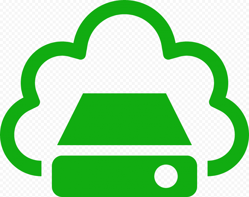 PNG Green Storage Cloud Service icon