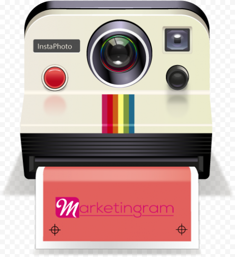 Polaroid Camera Old Clipart Illustration