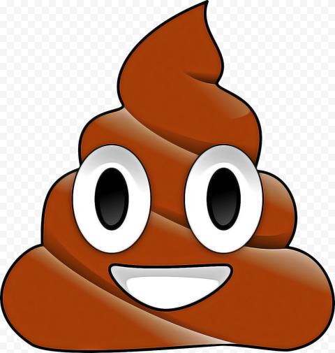 Poop Emoji Face Cartoon