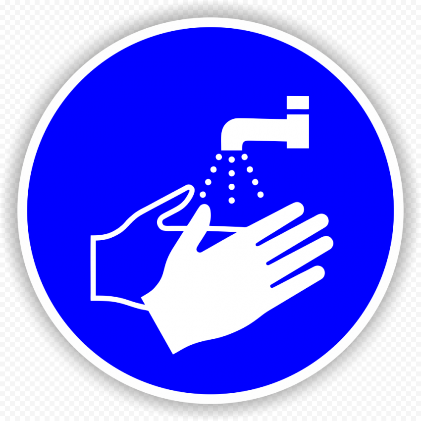 PPE Hand Washing Sign Protection Equipment