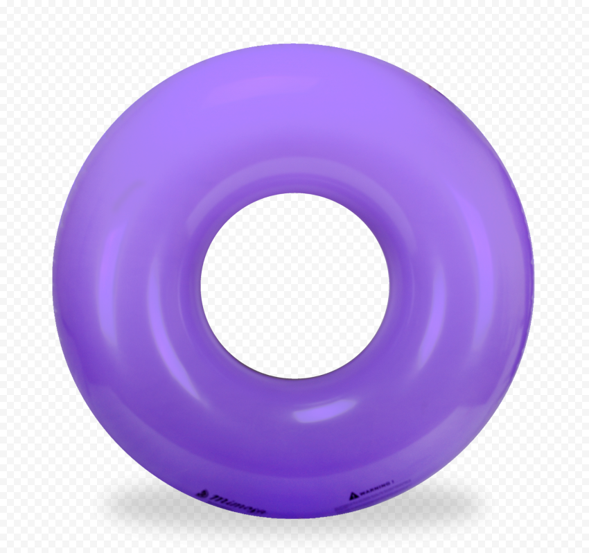 Purple Inflatable Pool Buoy Ring PNG