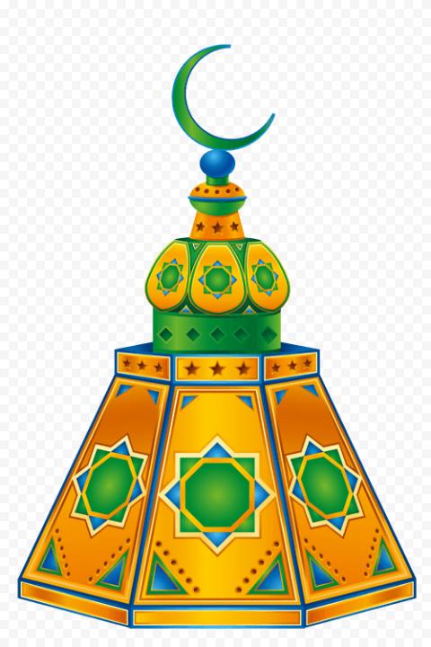 Ramadan Decor Islamic Holidays Icon Illustration
