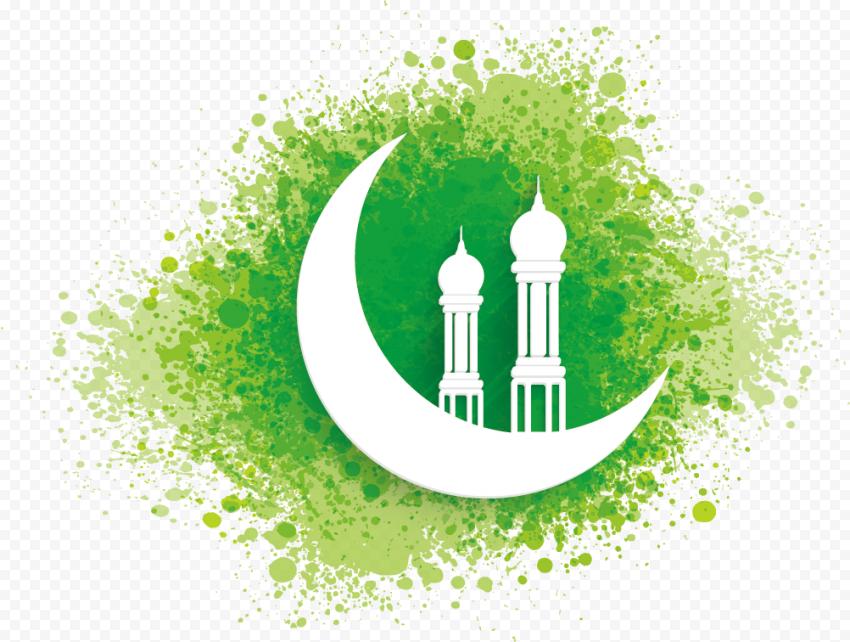 Ramadan Islamic Mosque Moon Green Design
