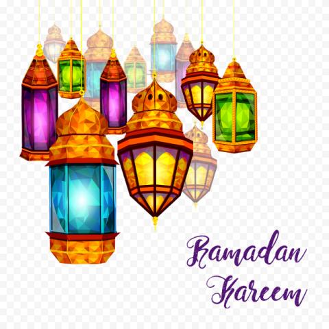 Ramadan Lights Lanterns Kareem Design