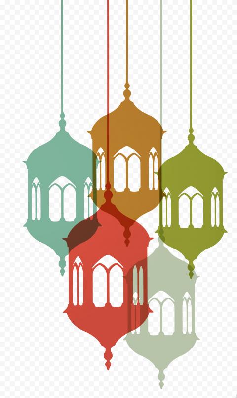 Ramadan Lights Lanterns Lamps Decorations