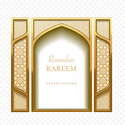Ramadan Mubarak Kareem Poster Modern Design